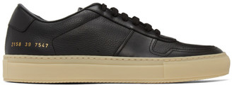 Common Projects Black and Beige BBall Sneakers