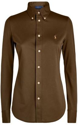 Ralph Lauren Cotton Pique Oxford Shirt
