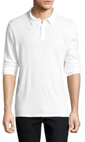 Save Khaki Heavy Supima Jersey Cotton Polo