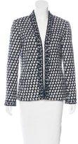 Oscar de la Renta Wool-Blend Tweed Jacket