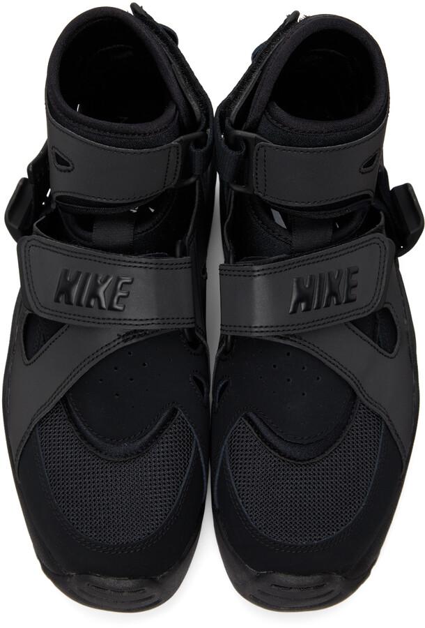 Thumbnail for your product : Comme des Garçons Homme Plus Black Nike Edition Air Carnivore Sneakers