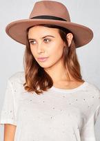 Missy Empire Cydney Camel Fedora Hat
