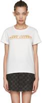 Marc Jacobs Ivory Classic Logo T-shirt