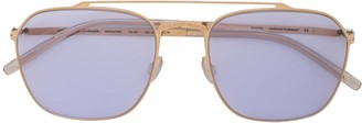 Mykita x Maison Margiela square-frame sunglasses