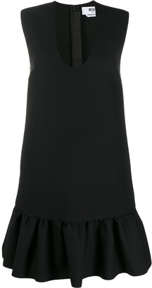 MSGM Peplum Hem Mini Dress