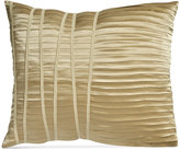 """Donna Karan Home Reflection Gold Dust 16"""" x 20"""" Pleated Decorative Pillow"""