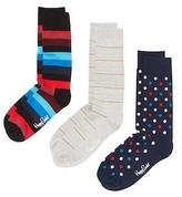Happy Socks Stripes & Dot Socks (3 PK)