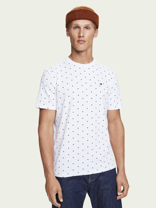 Scotch & Soda Stretch cotton short sleeve t-shirt | Men