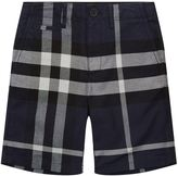 Burberry Check Cotton Shorts (4 Years - 12 Years)
