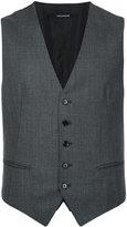 Tagliatore buttoned waistcoat - men - Cupro/Wool - 44