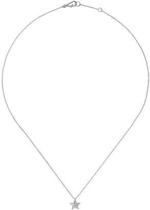 Annoushka 18kt white gold Love Diamonds star necklace