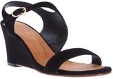 Chie Mihara suede wedge sandal