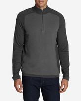 Eddie Bauer Men's Talus Textured 1/4-Zip Sweater
