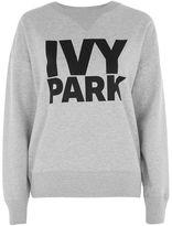 Ivy Park Logo peached sweatshirt