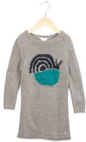 Little Marc Jacobs Girls' Patterned Sweater Dress