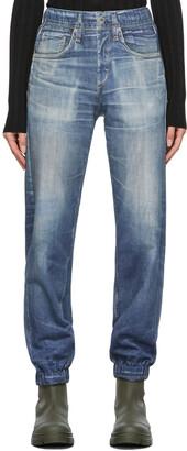 rag & bone Blue Trompe L'oeil Miramar Jogger Lounge Pants