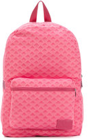 Armani Junior logo backpack - kids - polyester - One Size