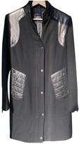 Cesare Paciotti Black Leather Coat for Women
