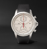 IWC SCHAFFHAUSEN Portugieser Yacht Club Chronograph 43.5mm Stainless Steel and Rubber Watch