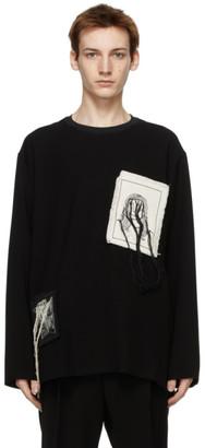 Song For The Mute Black Portrait Crew Sweatshirt