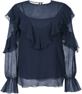 See by Chloé frilled blouse