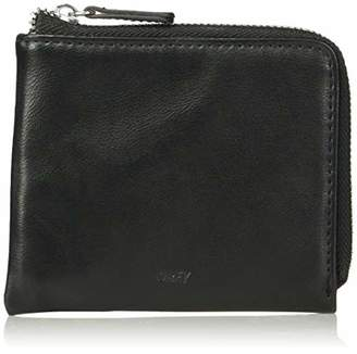Obey Men's Gentry Jumble Half Zip Wallet