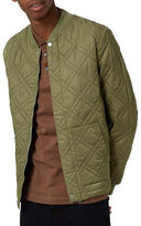 Topman Rockwell Quilted Puffer Jacket