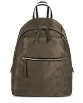 Mossimo Women's Satin Mini Backpack Olive