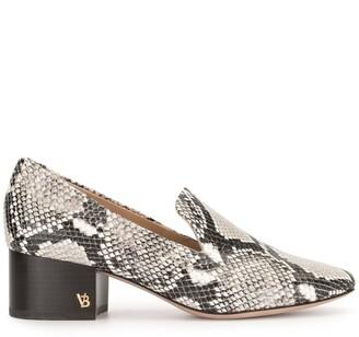 Veronica Beard Baylie snake print loafers