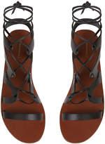 Warehouse Leather Gladiator Sandal