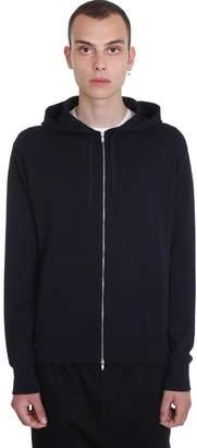 Jil Sander Sweatshirt In Blue Polyester