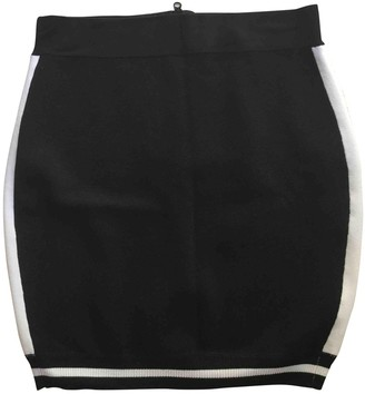 Carven Black Cotton - elasthane Skirt for Women