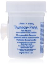 Clean + Easy Clean & Easy Clean+ Easy Tweeze-Free Microwave Hair Remover - 1 oz