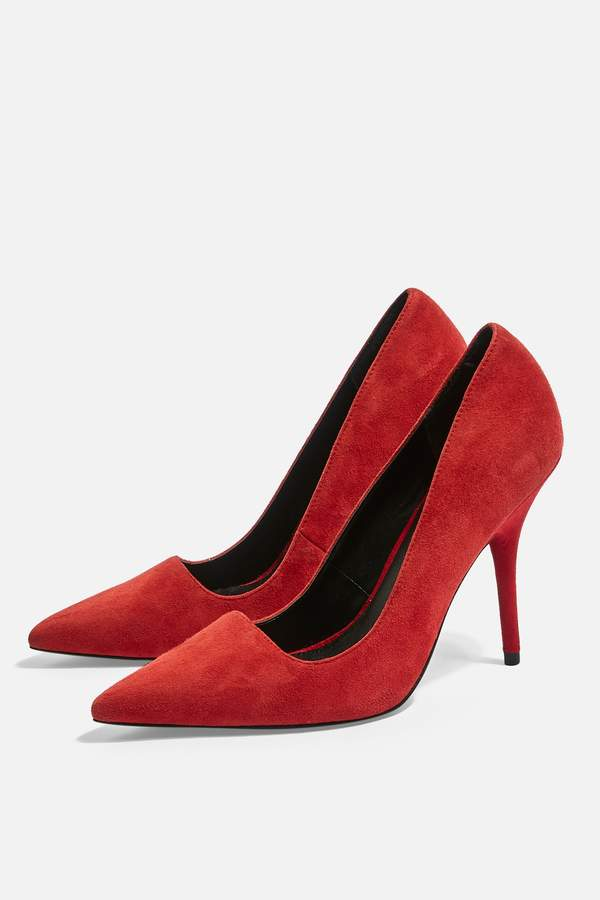 3aaaed2d6e6 Womens Game Pointed Court Shoes - Red
