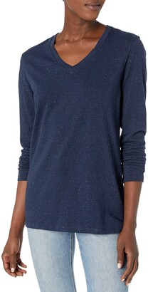 Carhartt Women's Lockhart Long Sleeve V Neck T Shirt