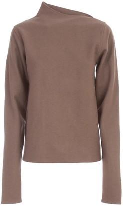 Lemaire Asymmetrical Collar Sweater