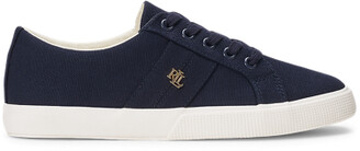 Ralph Lauren Janson II Canvas Trainer