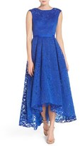 JS Collections Women's Lace High/low Gown