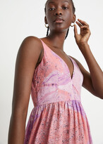 Thumbnail for your product : And other stories Printed Sleeveless Midi Dress