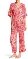 Natori Mosaic Meadow Pajama 2-Piece Set