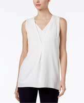 Calvin Klein Double-Layer V-Neck Shell