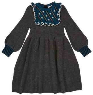 Caramel Merino Wool Nightingale Dress (8-12 Years)
