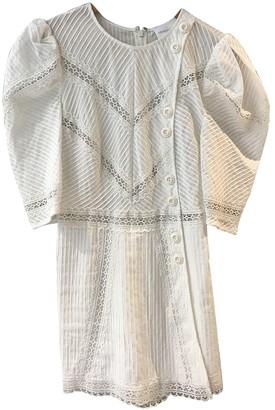 Alice McCall White Cotton Jumpsuits