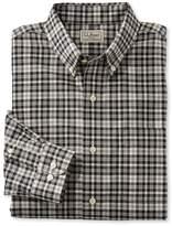 L.L. Bean L.L.Bean Wrinkle-Free Mini-Tartan Shirt, Traditional Fit