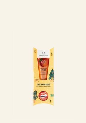 The Body Shop Sweetening Mango Lips, Hands & Nails Kit