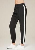 Bebe Striped Jogger Pants