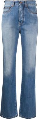 Victoria Victoria Beckham Stonewashed Straight Jeans