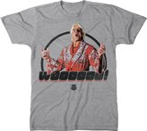 Freeze Men's WWE Wooooo! Ric Flair T-Shirt Heather Grey 2XL