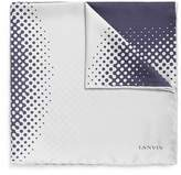 Lanvin Dot print silk pocket square