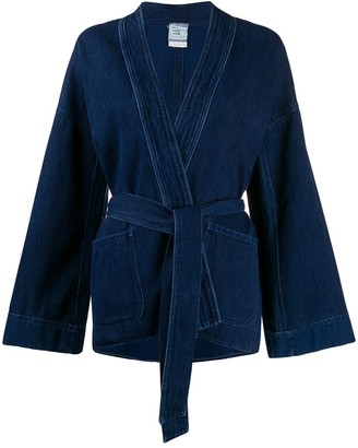 Forte Forte Boxy Fit Open Front Jacket